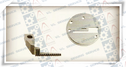 NEEDLE PLATE+FEED DOG for CS-4300